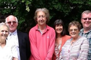 Farewell afternoon for David & Ann Hasson 2014